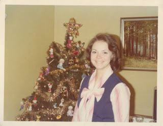 My mom, the style icon: A pretty bow