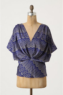 Geo Feather Blouse
