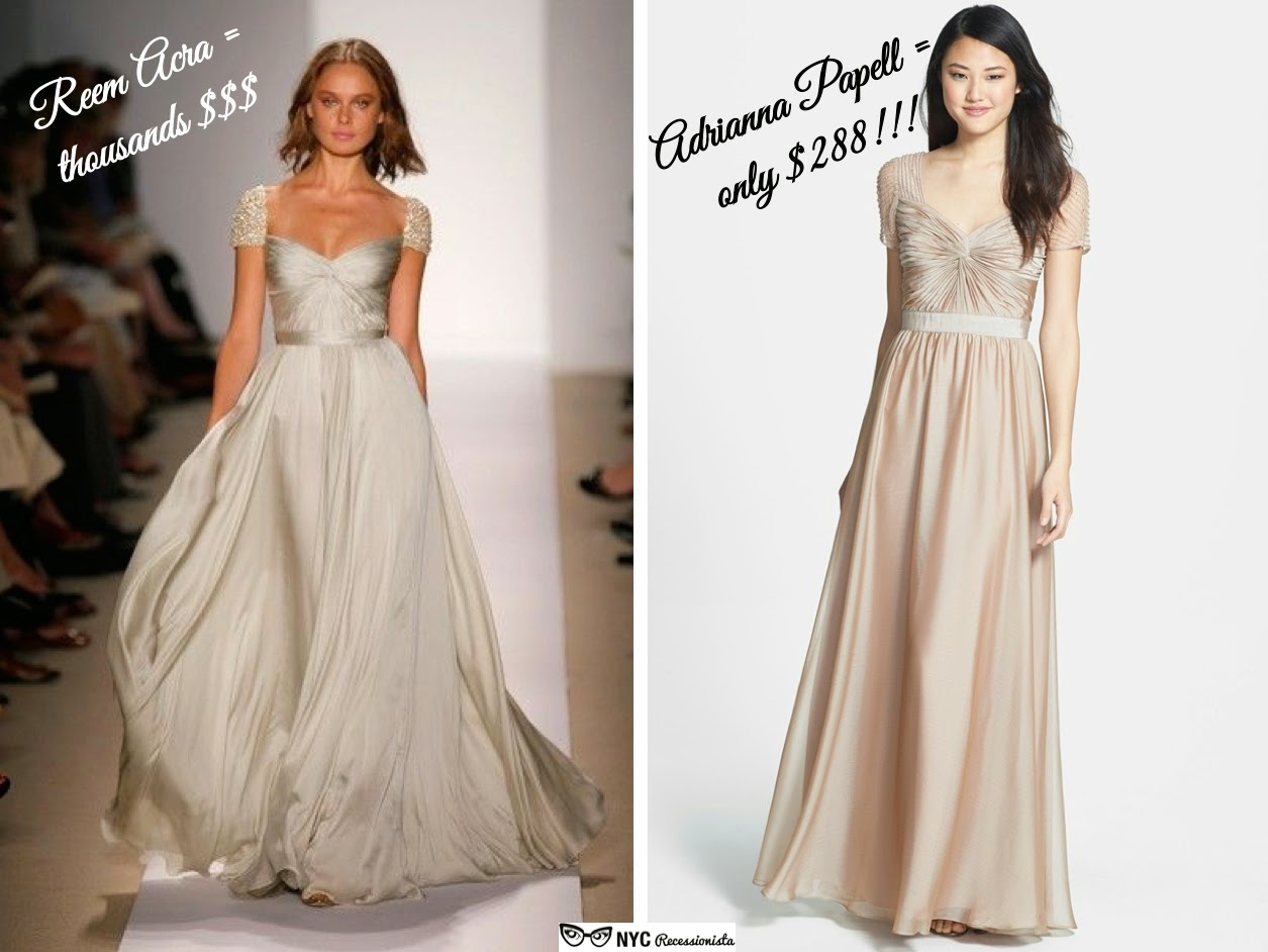 Unique wedding dress alternative wedding dress alternate wedding - Affordable Alternatives Reem Acra Cap Sleeve Wedding Dress Nyc Recessionista