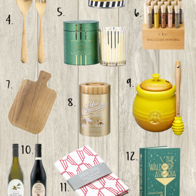 holiday gift guide hostess home