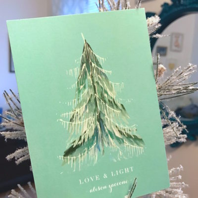 Minted Holiday Card Reveal