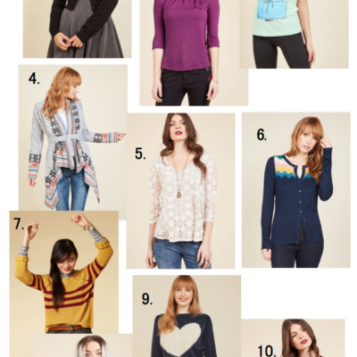 Modcloth sale tops sweaters