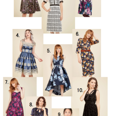 modcloth dresses sale
