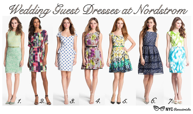 Wedding Guest Dresses At Nordstrom Nyc Recessionista